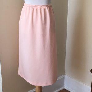 Size M Pink a-line skirt